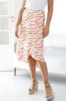 ALIX THE LABEL - Long Zebra Skirt