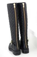 BUMPER - Höga Quiltade Boots - E242