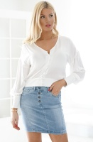 ALIX THE LABEL - Oversized Viscose Top