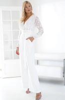 FRENCH CONNECTION - Annalise Belted Jumpsuit