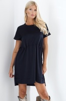 FRENCH CONNECTION - Blue Draw Dress