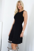 FRENCH CONNECTION - Sleeveless Black Dress 71MAO
