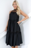 IMPERIAL - Tiered Perkins Dress