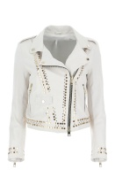 IMPERIAL - Leather Jacket with Studs