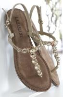 LAZAMANI - Sandal/Flip Flop med Stenar