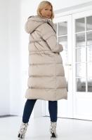 LEMPELIUS - Beige Coat Long