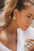 CAROLINE SVEDBOM - Mermaid Cuff Earring Gold