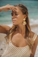 CAROLINE SVEDBOM - Mermaid Earring Gold