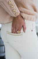 MOS MOSH - Sumner Cream Jeans