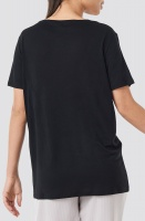 NAKD - 2-pack V-Neck Tee Black and White
