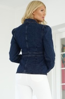 NA-KD - Denim Puff Sleeve Jacket