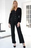 NA-KD - Wrinkle Shoulder Jumpsuit