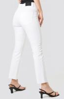 NAKD - Raw Hem Straight Leg Jeans