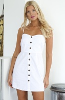 NA-KD - Strap Mini Cotton Dress