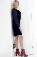 NADINE H - Sammetsklänning med knyt