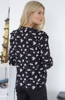 NOTES DU NORD - Jenna Flower Blouse