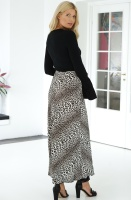 NOTES DU NORD - Lydia Leopard Skirt