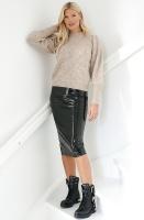 AHLVAR - Hana Latex Pencil Skirt