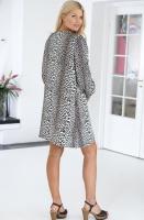 NOTES DU NORD - Leopard Short Dress