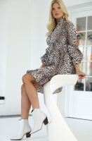 NOTES DU NORD - Maxinne Dress Leo