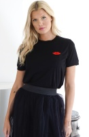 RUT & CIRCLE - Lipp Cuff Tshirt