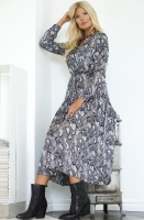 SAND - Rayne Dress Black