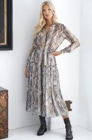 SAND - Rayne Snake Dress