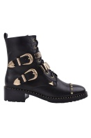 SOFIE SCHNOOR - Boot with Gold Details and Studs