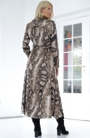 SOFIE SCHNOOR - Lula Snake Dress