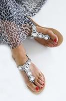 SOFIE SCHNOOR - Alba Sandal Silver