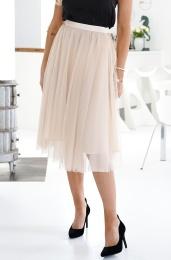IDA SJÖTEDT - Flawless Tulle Skirt Beige