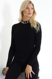 KARL LAGERFELD  Logo Turtleneck Sweater