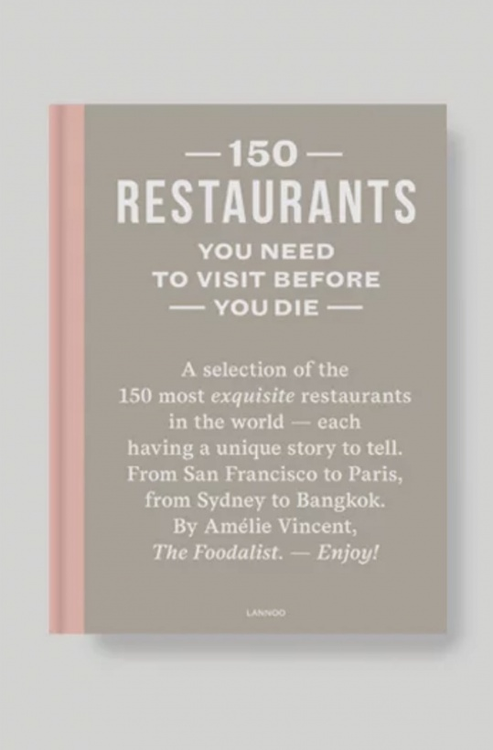 NEW MAGS - 150 Restaurants You Need To Visit Before You Die