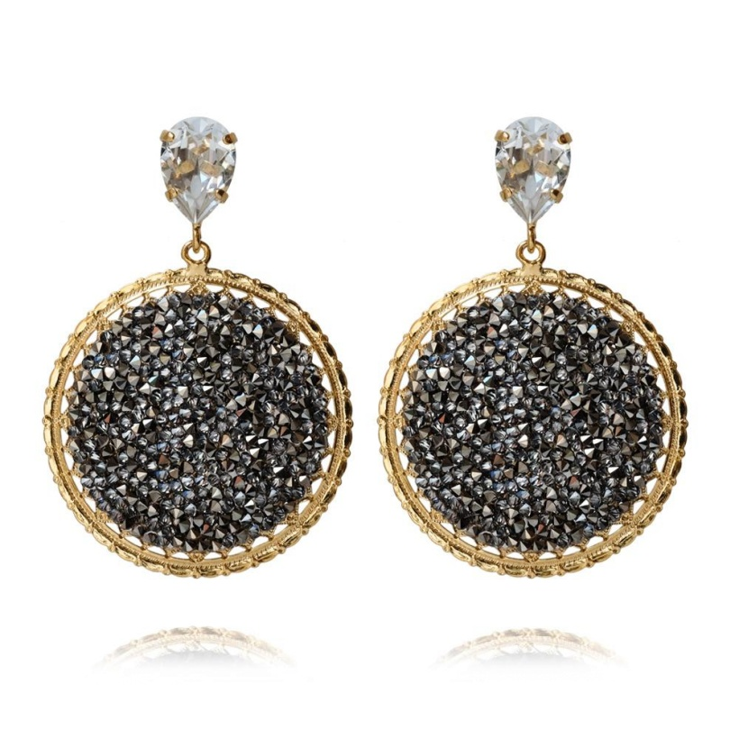 CAROLINE SVEDBOM - Alexandra Crystal Rock Earring