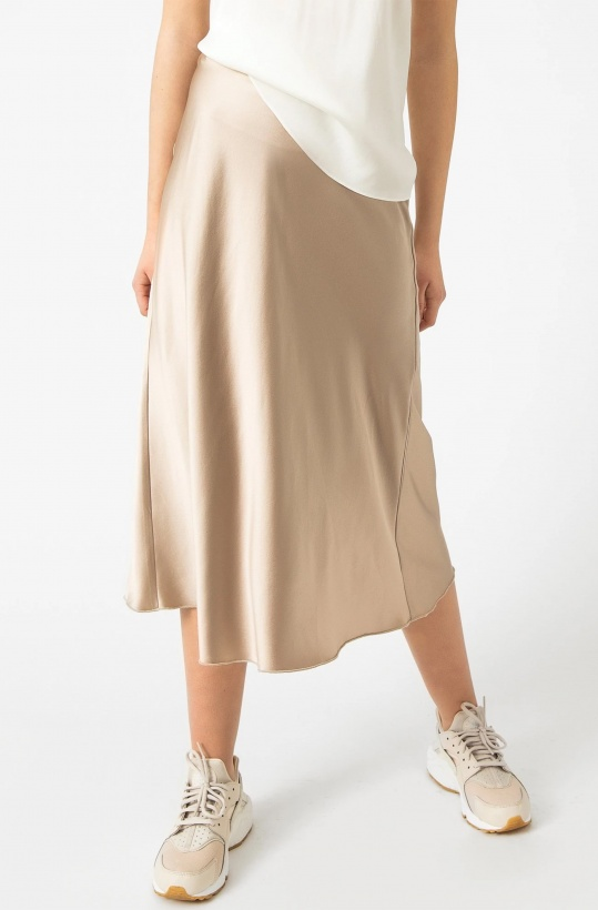 AHLVAR - Hana Satin Skirt