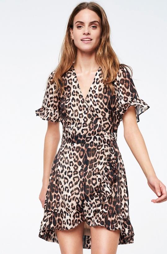 ALIX THE LABEL - Jacquard Dress Leo