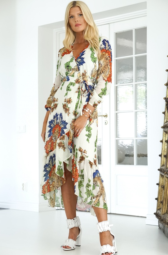 ALIX THE LABEL - Fancy Chiffong Dress Long