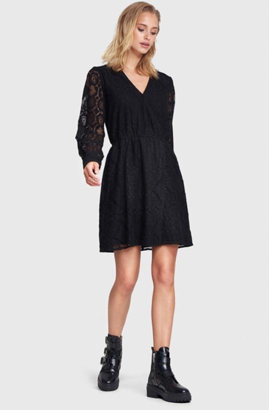 ALIX THE LABEL - Fake-wrap Lace Dress