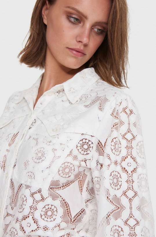 ALIX THE LABEL - Lovely Lace Blouse