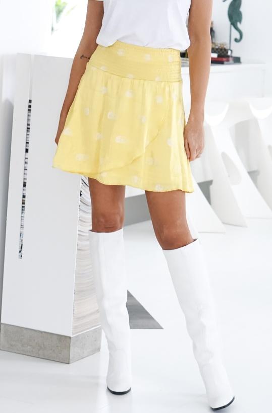 ALIX THE LABEL - Leo Shine Skirt