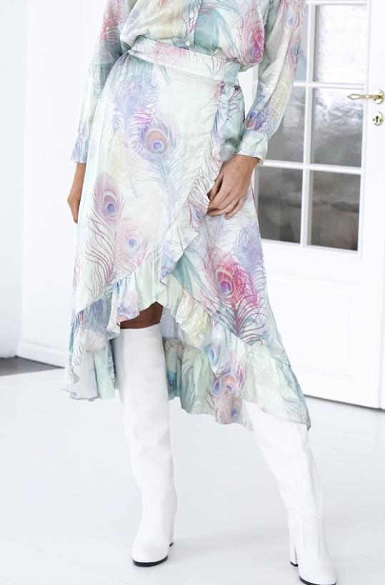 ALIX THE LABEL - Peacock Skirt Omlott