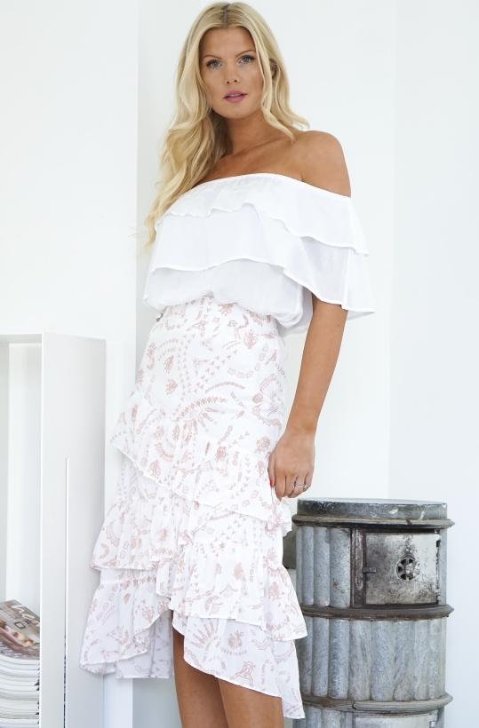 ALIX THE LABEL - Stamp Modal Skirt