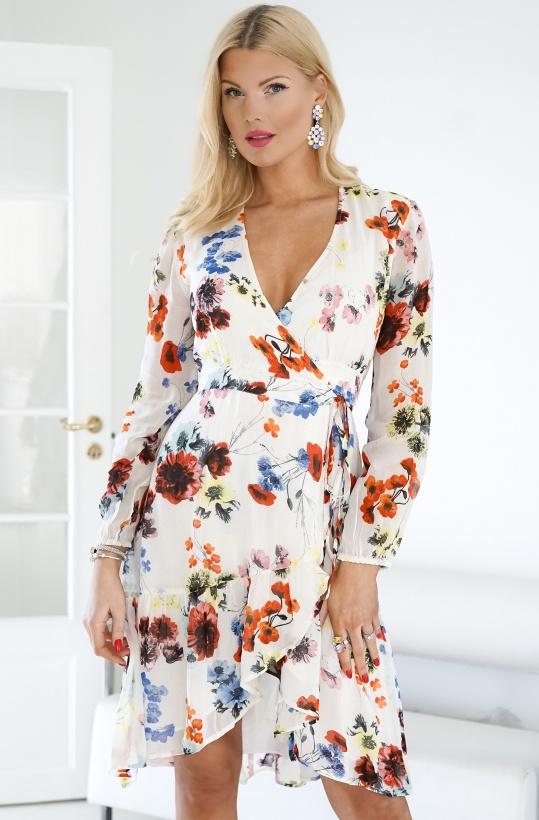 ALIX THE LABEL - Flower Chiffon Dress
