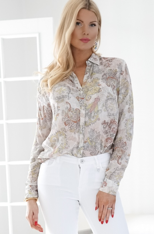 ALIX THE LABEL - Paisley Chiffon Blouse