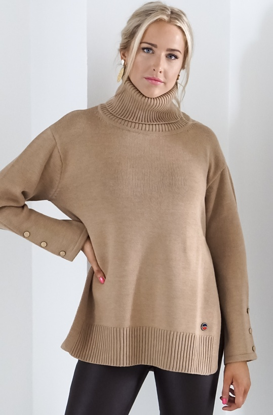 BUSNEL - Liza Polo Sweater