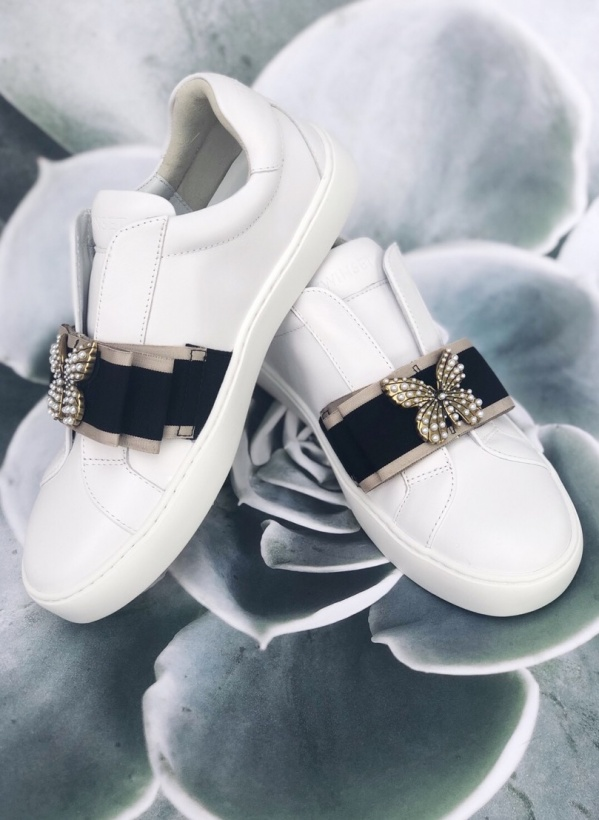 TWINSET - Butterfly Sneakers