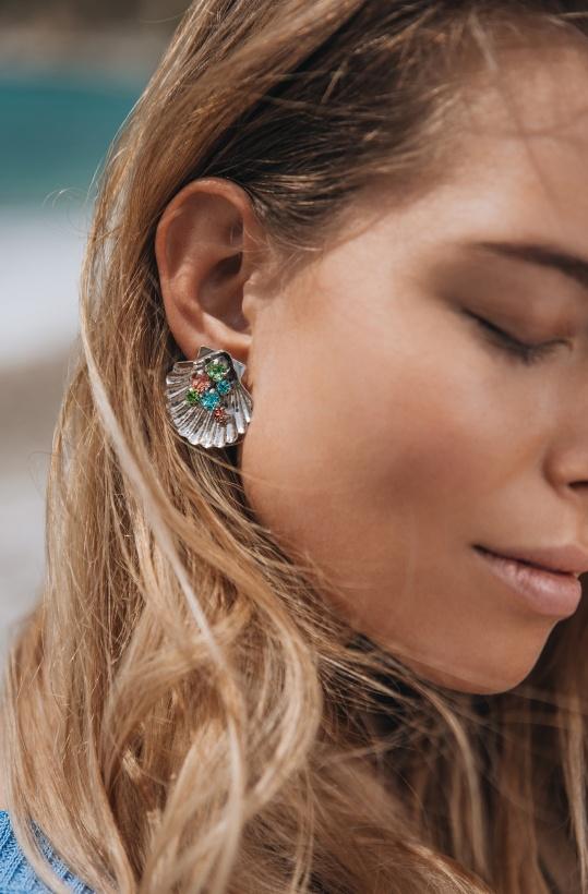 CAROLINE SVEDBOM - Mermaid Cuff Earring Gold