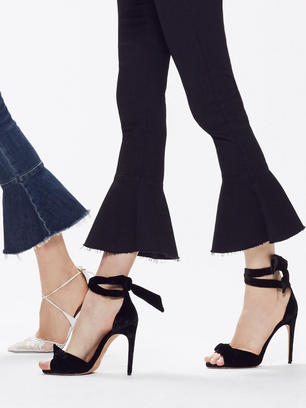 MOTHER - the CHA CHA FREY JEANS BLACK