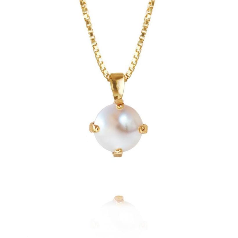 CAROLINE SVEDBOM - Classic Petit Necklace Pearl