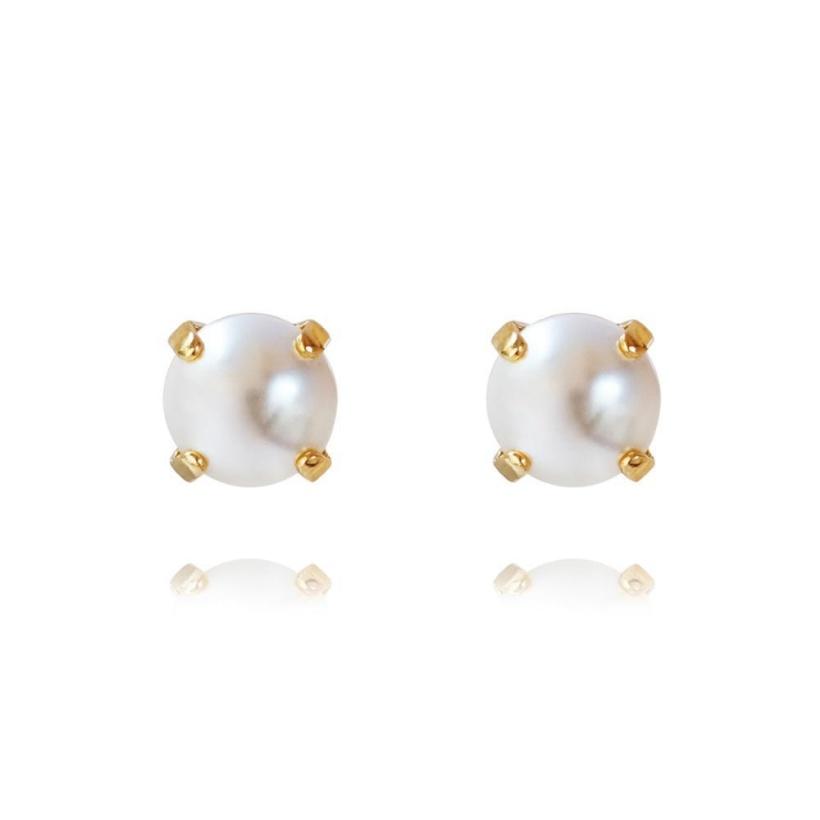 CAROLINE SVEDBOM - Classic Stud Earring Pearl